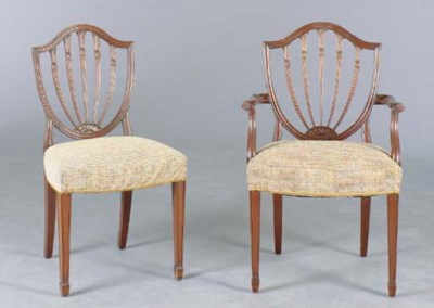 A SET OF EIGHT GEORGE III STYL