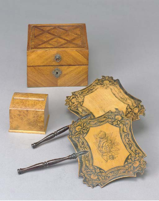A VICTORIAN TULIPWOOD AND PARQ