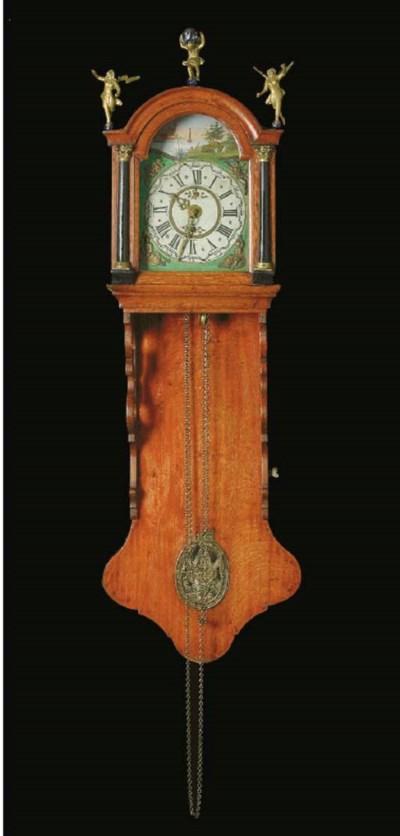 A GERMAN STAART WALL CLOCK,