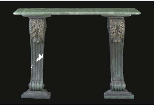 A NEOCLASSICAL STYLE GREEN MAR