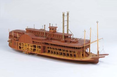 A large detailed model of the