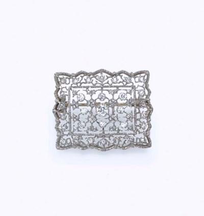 A DIAMOND PIN, BY BUCCELLATI
