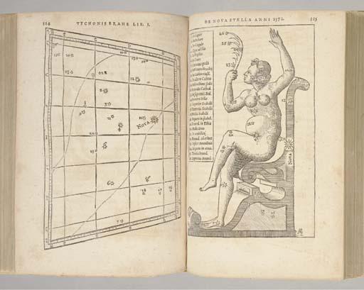 BRAHE, Tycho (1546-1601). Astr