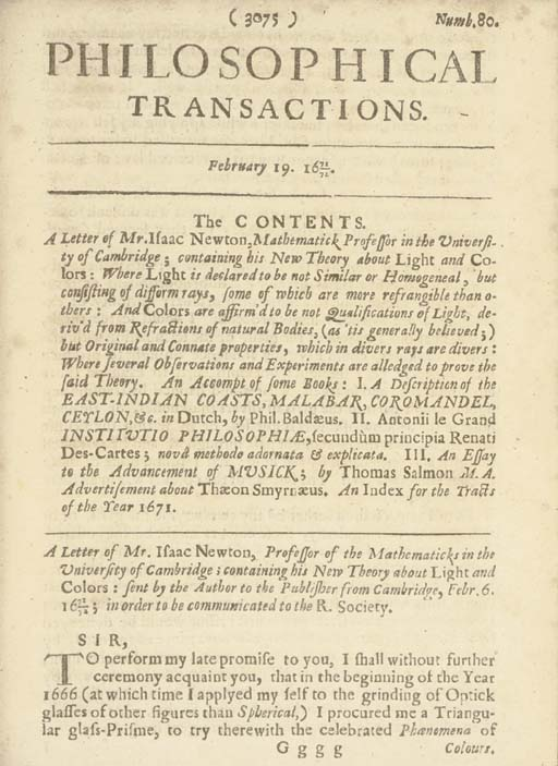 [PHILOSOPHICAL TRANSACTIONS].