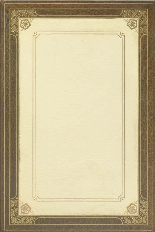 MUIR, John. The Writings. Bost