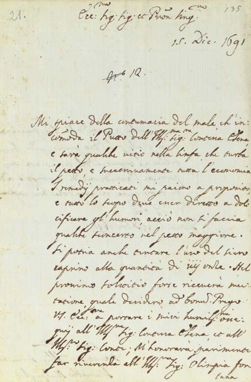 MALPIGHI, Marcello (1628-1694)