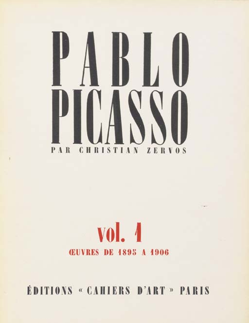 PICASSO, Pablo. -- Christian Z