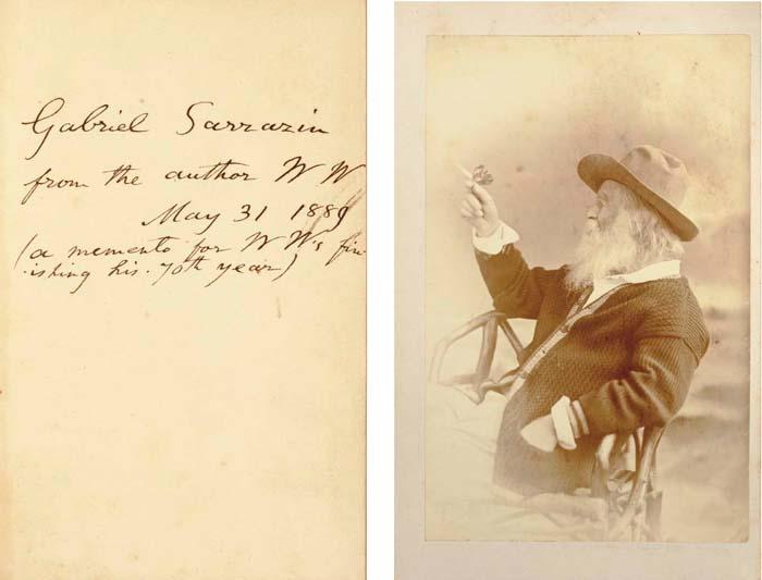 WHITMAN, Walt (1819-1892). Lea