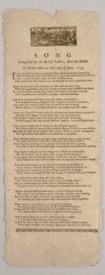 [REVOLUTIONARY WAR]. A Song Co