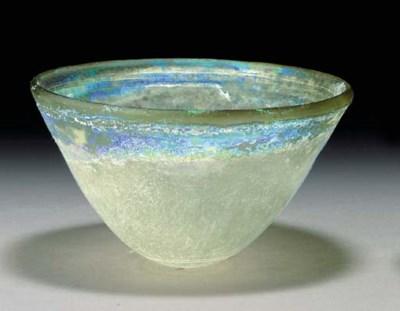 A GREEK GLASS BOWL