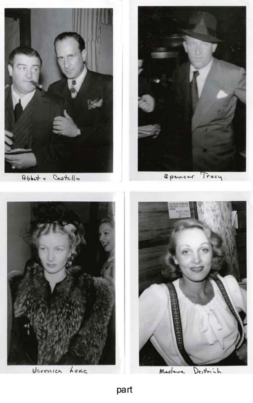 Film Stars And Entertainers - 1940s