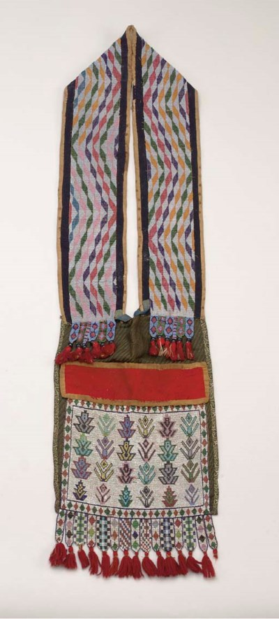 A WESTERN GREAT LAKES BEADED C