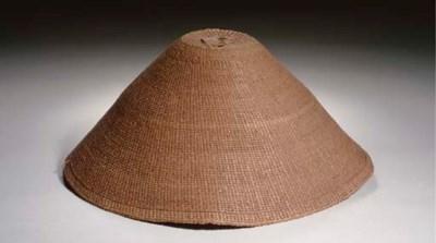 A NORTHWEST COAST TWINED HAT
