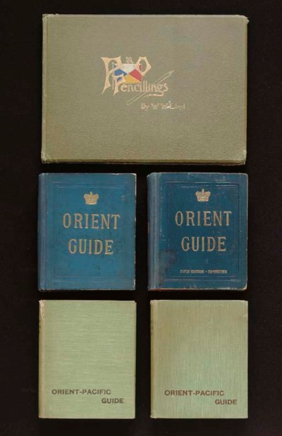 A group of 5 volumes for the P