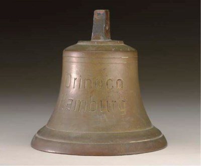 A small bell from the S.S. Ori