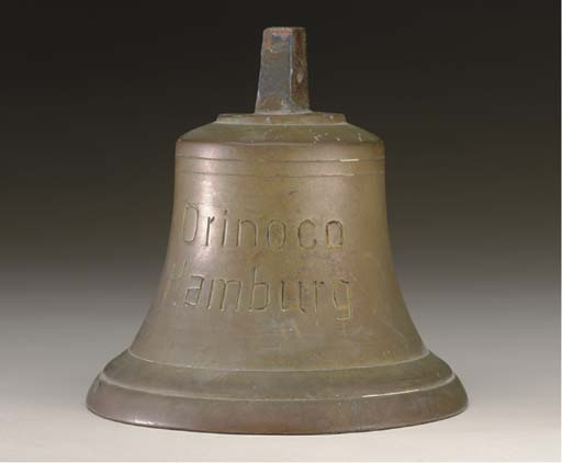 A small bell from the S.S. Orinoco
