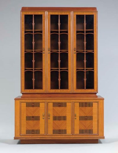 A maple veneer bookcase for th