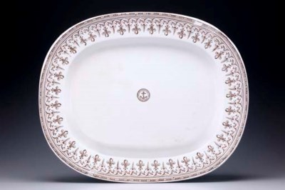 A large serving platter from t