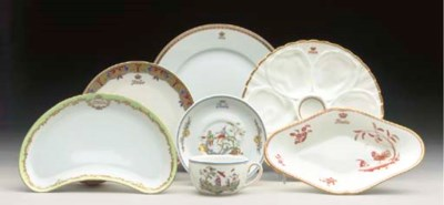 A group of china for the Itali