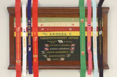 A GROUP OF GALA RIBBONS FROM V
