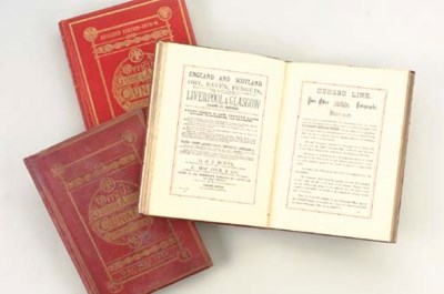 A GROUP OF 3 VOLUMES FOR THE C