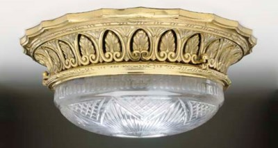 A LIGHT FIXTURE FROM THE R.M.S
