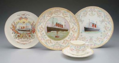 A GROUP OF SOUVENIR CHINA FOR
