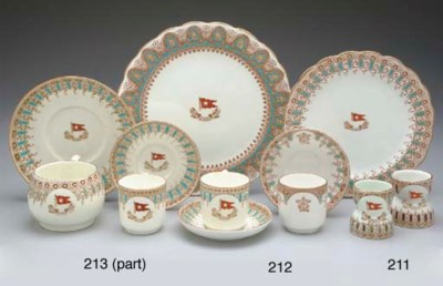 AN EARLY DEMITASSE CUP AND SAU