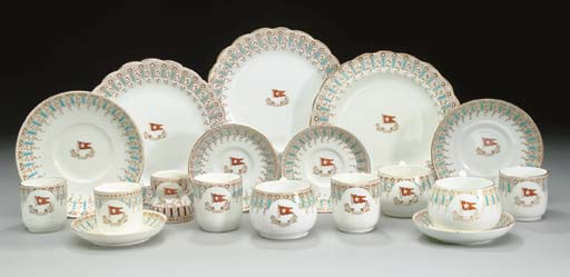 A GROUP OF CHINA FOR THE WHITE STAR LINE
