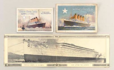A GROUP OF WHITE STAR LINE BRO