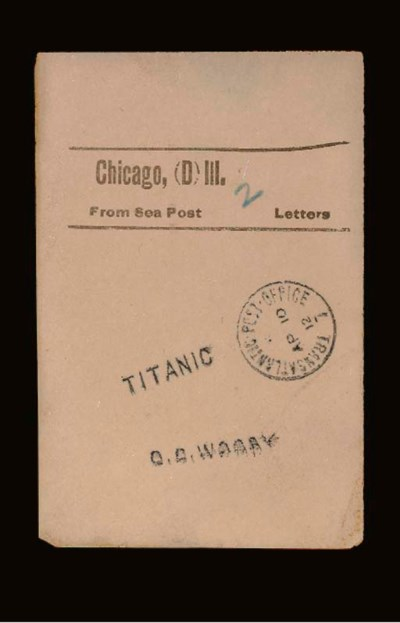 A FACING SLIP FROM A POSTAL CL