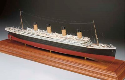 A MODEL OF THE R.M.S. TITANIC