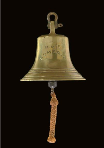 A SHIP'S BELL FROM THE WHITE S