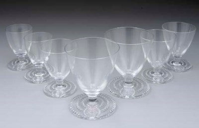 A GROUP OF GLASSES FOR THE PRI