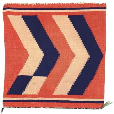 A NAVAJO GERMANTOWN WEAVING
