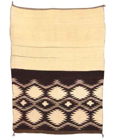 TWO NAVAJO BLANKETS