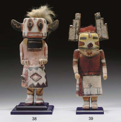 A HOPI COTTONWOOD KACHINA DOLL