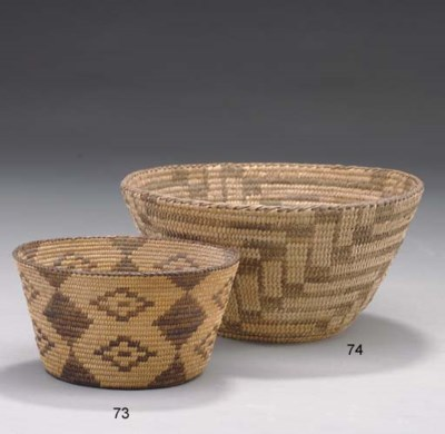 A PIMA COILED BOWL