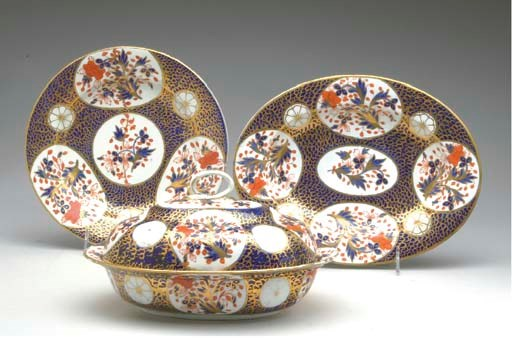 A GROUP OF ROYAL CROWN DERBY P