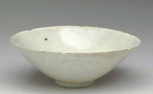 TWO  CHINESE QINGBAI BOWLS AND
