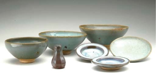 A GROUP OF SEVEN CHINESE JUN W