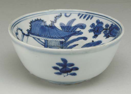 A CHINESE BLUE AND WHITE WARMI