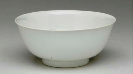 A CHINESE WHITE-GLAZED ANHUA D