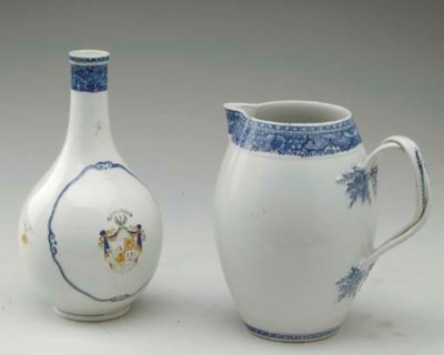 A CHINESE EXPORT BLUE FITZHUGH