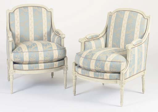A PAIR OF LOUIS XVI STYLE CREA