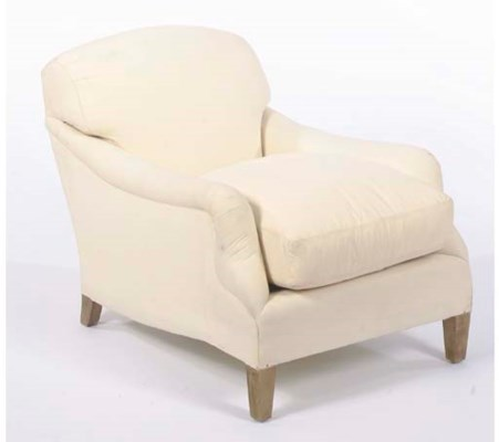 A CONTEMPORARY CLUB CHAIR UPHO