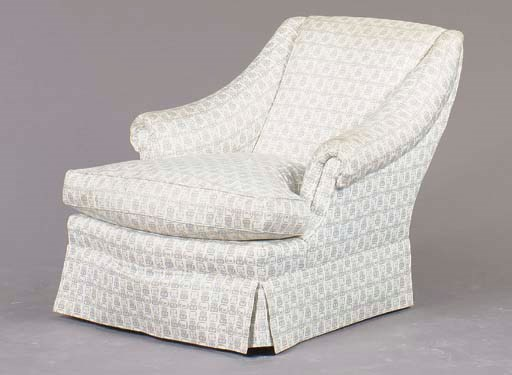 A CONTEMPORARY UPHOLSTRERED CL