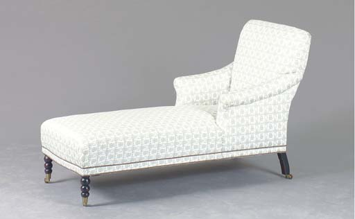 A CONTEMPORARY UPHOLSTERED CHA