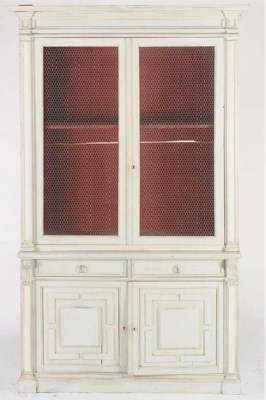A FRENCH PROVINCIAL STYLE WHIT