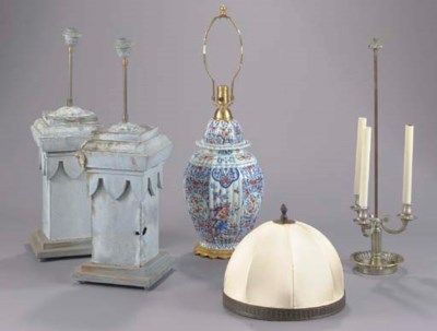 A GROUP OF LIGHTING FIXTURES,